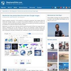 Rechercher des photos libres de droit dans Google Images
