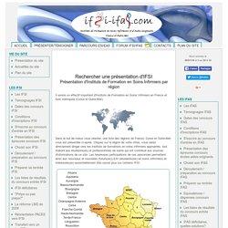 Rechercher IFSI par région