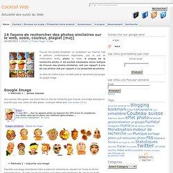 10 façons de rechercher des photos similaires sur le web, sosie, couleur, plagiat