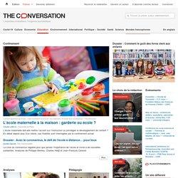 Éducation – Opinions et Recherches – The Conversation