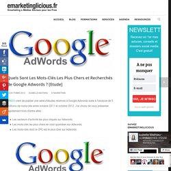 Quels Sont Les Mots-Clés Les Plus Chers et Recherchés de Google Adwords ? [Etude]