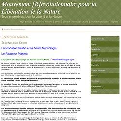 Recherches/Sciences - Mouvement [R]évolutionnaire pour la Libération de la Nature