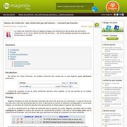 Moteur de recherche Magento : des recherches par pertinence... vraiment pertinentes (relevance)