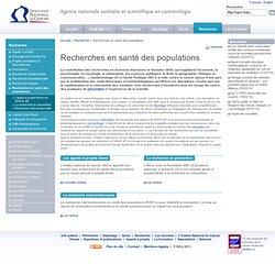 Recherches en santé des populations