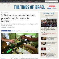 L'Etat entame des recherches poussées sur le cannabis médical