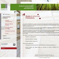 IRABOIS / Etudes & recherches Publications