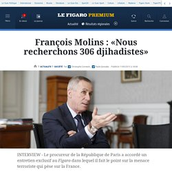 Le Figaro: François Molins : «La menace terroriste ne cesse de croître» htt