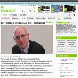Het recht op werken bestaat niet – Jan Buelens