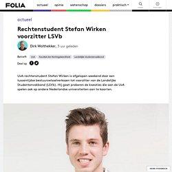 Rechtenstudent Stefan Wirken voorzitter LSVb