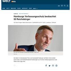 Rechtsextremismus: Hamburgs Verfassungsschutz beobachtet 50 Reichsbürger - WELT