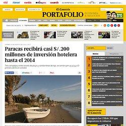 Paracas recibirá casi S/.200 millones de inversión hotelera hasta el 2014