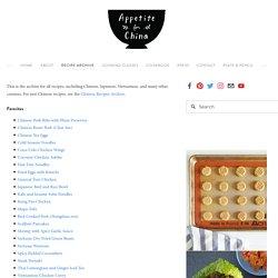 Recipes by Category