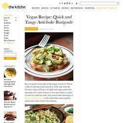 Vegan Recipe: Quick and Tangy Artichoke Barigoule