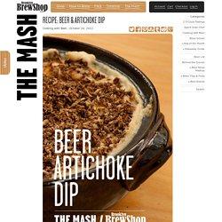 Beer & Artichoke Dip
