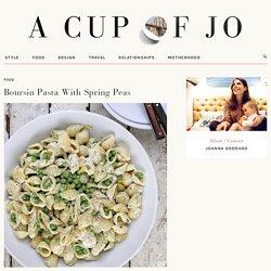 Recipe: Boursin Pasta With Spring Peas