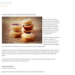 RECIPE REVIEW: CLOTILDE'S MINI FINANCIERS