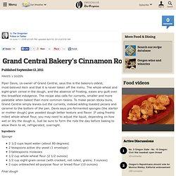Grand Central Cinnamon Rolls
