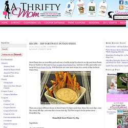 Recipe – Dip for Sweet Potato Fries