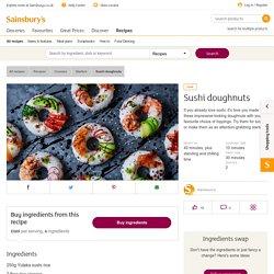 Recipe: Sushi doughnuts