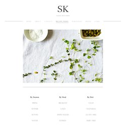 Recipe Index — SK