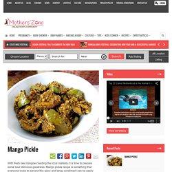 Recipe of Mango Pickle (Aam Ka Achar)