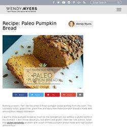 Recipe: Paleo Pumpkin Bread - Liveto110.com