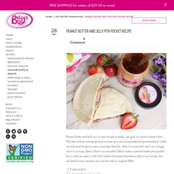 Healthy Breakfast Recipes: Peanut Butter And Jelly Pit by Betsy's Best