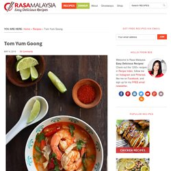 Tom Yum Recipe