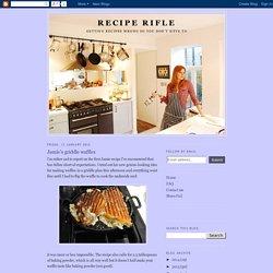 Jamie's griddle waffles