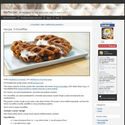 Recipe: Smoreffles - Waffleizer - StumbleUpon