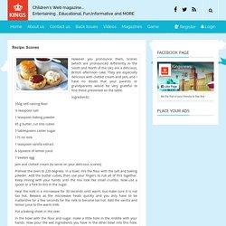 Recipe: Scones