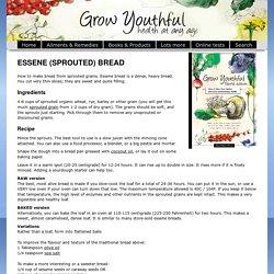 Recipe, Sourdough Essene Bread (Sprouted Bread)