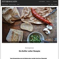 """Mit """"The Recipe Suitcase"""" um die Welt"""