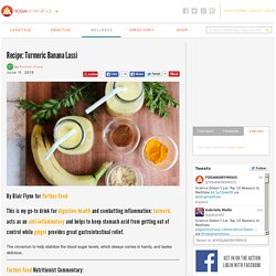 Recipe: Turmeric Banana Lassi