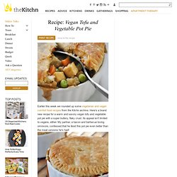 Recipe: Vegan Tofu and Vegetable Pot Pie