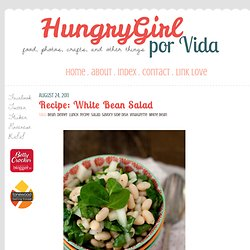 Blog Archive » Recipe: White Bean Salad