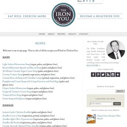 The Iron You: Recipes