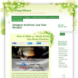 Low Cost Recipes Archives