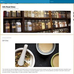 Recipes Archives - Silk Road Diary