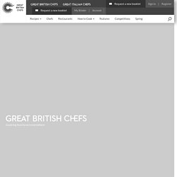 Home To Recipes & Chefs From The Great British Menu - Great British Chefs