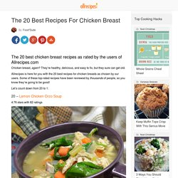 The 20 Best Recipes For Chicken Breast - Allrecipes Dish