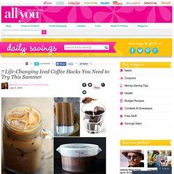 How to Make Iced Coffee – Iced Coffee Recipes
