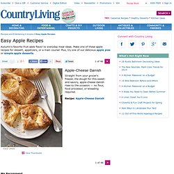 Easy Apple Recipes - Easy Recipes with Apples - Delish.com