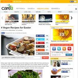 4 Vegan Recipes for Easter