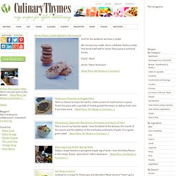 Culinary Thymes - Easy Recipes For Stylish Entertaining