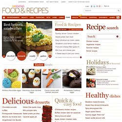Recipes, Food, Cooking, Holiday Recipes & Free Recipes @ SheKnow