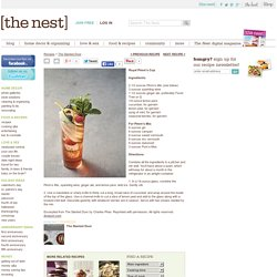 Recipes from The Nest