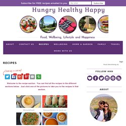 Recipes - Hungry Healthy Happy