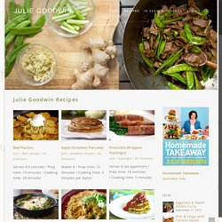 Recipes - Julie Goodwin