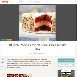 10 Rich Recipes for National Cheesecake Day | Yummly